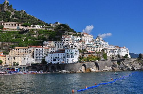 Amalfi Beach View