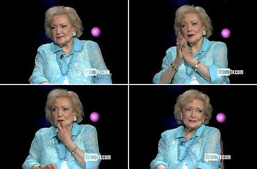 Betty on Inside the Actors Studio