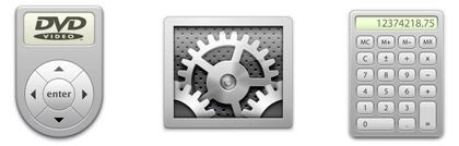 Brushed Aluminum Icons