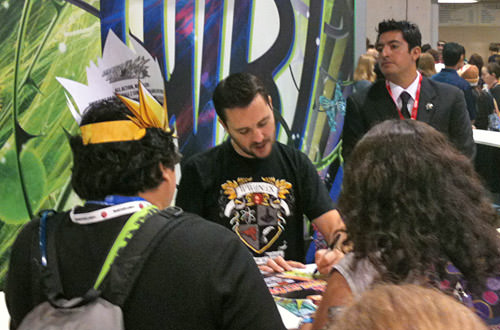 Wil Wheaton at Comic Con