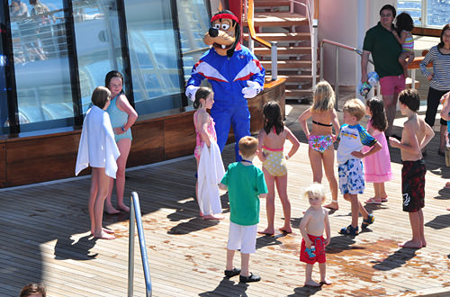 Kids on the Disney Magic