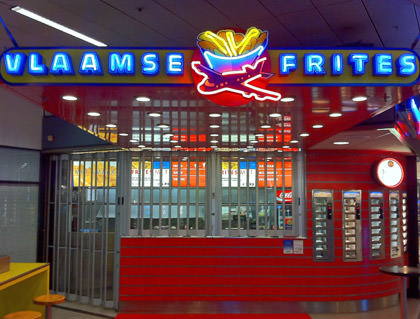 Vlaamse Frites Stand is CLOSED!