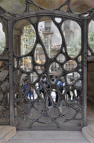 Gaudi Alien Door