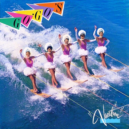 Go-Go's Album Cover Vacation