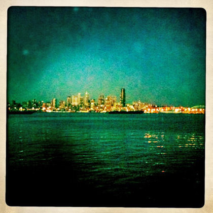 Hipstamatic Seattle View