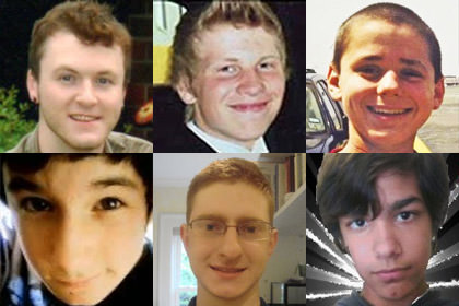 In memory of Zach Harrington, Justin Aaberg, Asher Brown, Seth Walsh, Tyler Clementi, and Billy Lucas.