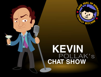 Kevin Pollak's Chat Show Logo