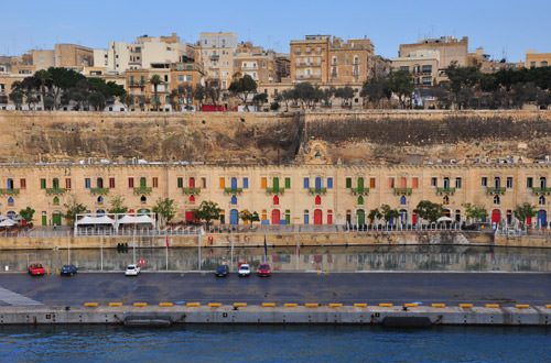 Approaching Valletta