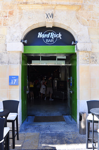 Hard Rock Bar Malta