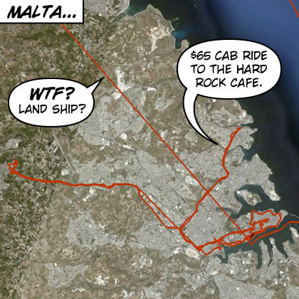Malta GPS Map