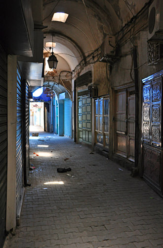 Medina Empty Alley