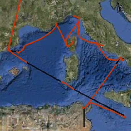 Mediterranean Cruise Tracking