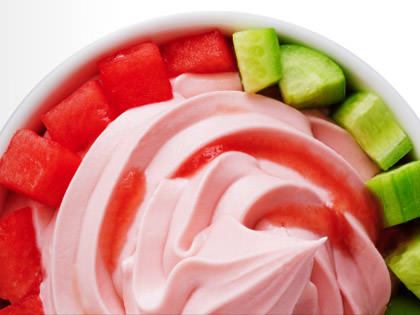 Pinkberry Watermelon FroYo