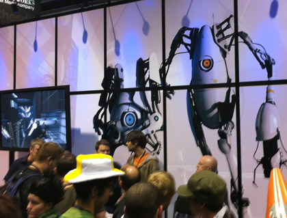 Portal 2 Booth at PAX Seattle