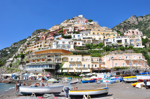 Positano Beach View