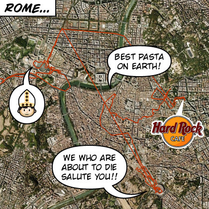 Rome GPS Map