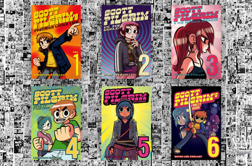 Scott Pilgrim Books