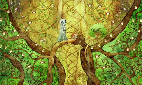 The Secret of Kells Art