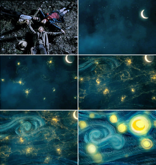 Dr. Who Vincent Van Gogh Starry Night