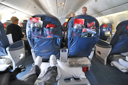 World Business Class Legroom!