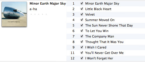 iTunes New List View