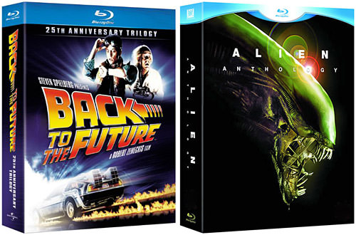 Back to the Future Trilogy and Alien Anthology