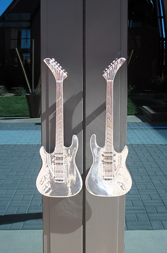 Guitar Door Handles!