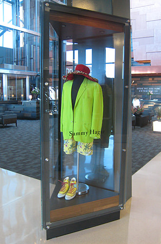 Sammy Hagar Suit Display