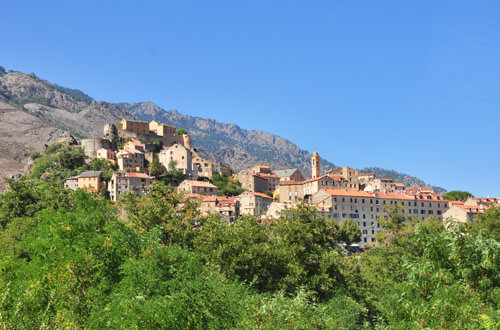Image of Corte, Corisca, France