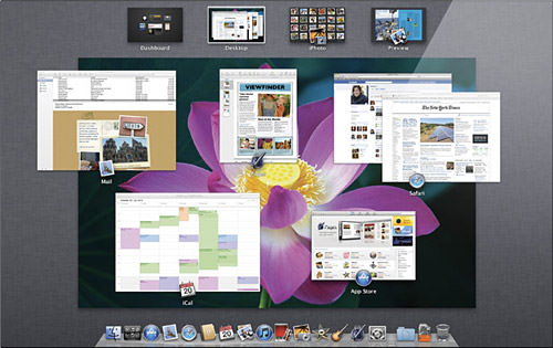 Mac OS X Lion Screenshot