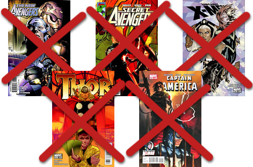 No More Marvel Comics