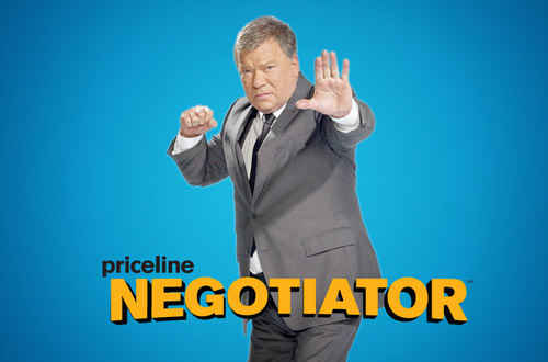 Priceline Negotiator: WILLIAM SHATNER!