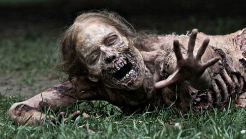 Zombie Woman from The Walking Dead TV Show