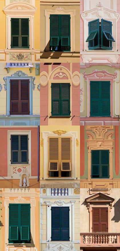 Windows of Santa Margherita
