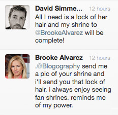 Brooke Alvarez Tweet!