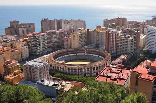 Bullfighting Arena Malaga