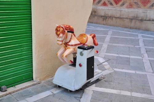 Kiddie Horse Machine