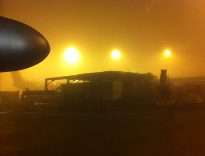 Foggy SeaTac Morning!