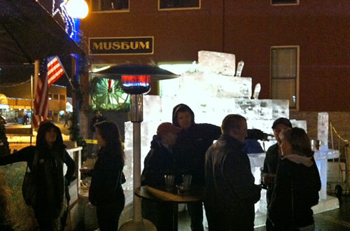 Ice Bar at Winterfest