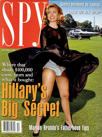 Spy Magazine Cover
