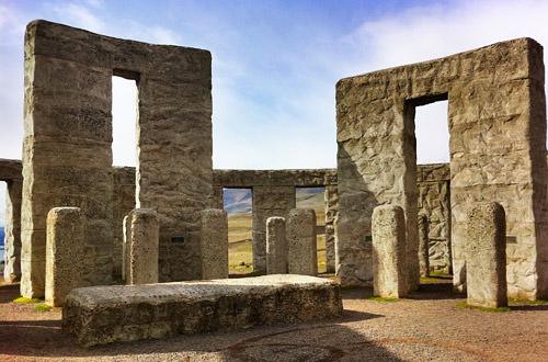 Stonehenge Memorial in Maryhill