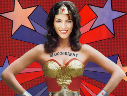 Elizabeth Hurley is Wonder Woman!