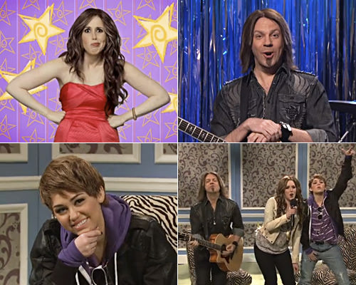 Miley Cyrus Show on SNL