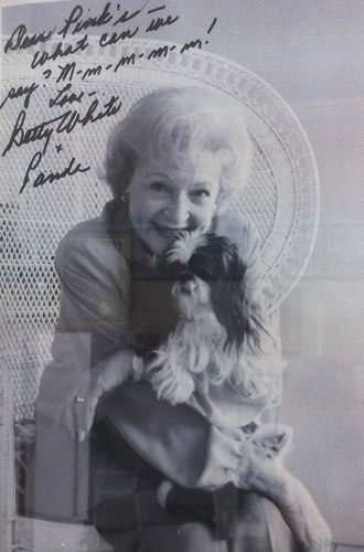 Betty White Loves Pink's