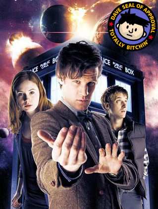 Doctor Who is Dave Approved!