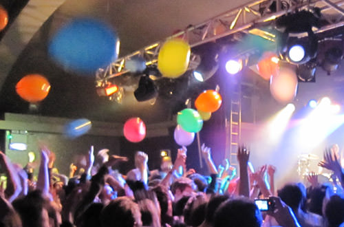 Balloon Armageddon at the Matt & Kim Concert