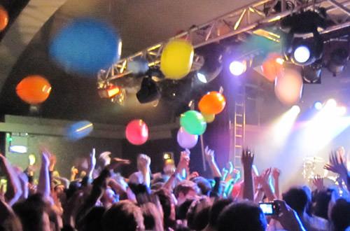 Balloon Armageddon at the Matt & Kim Concert
