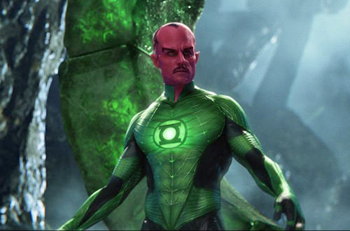 Sinestro Movie Costume