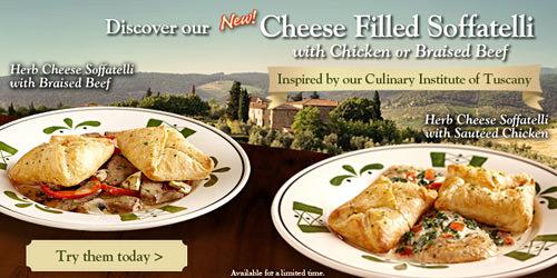 Olive Garden Soffatelli