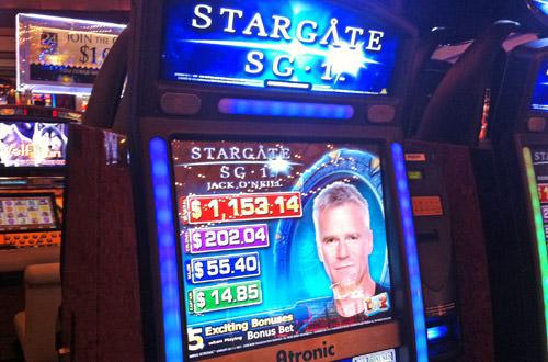 Stargate SG-1 Slots!